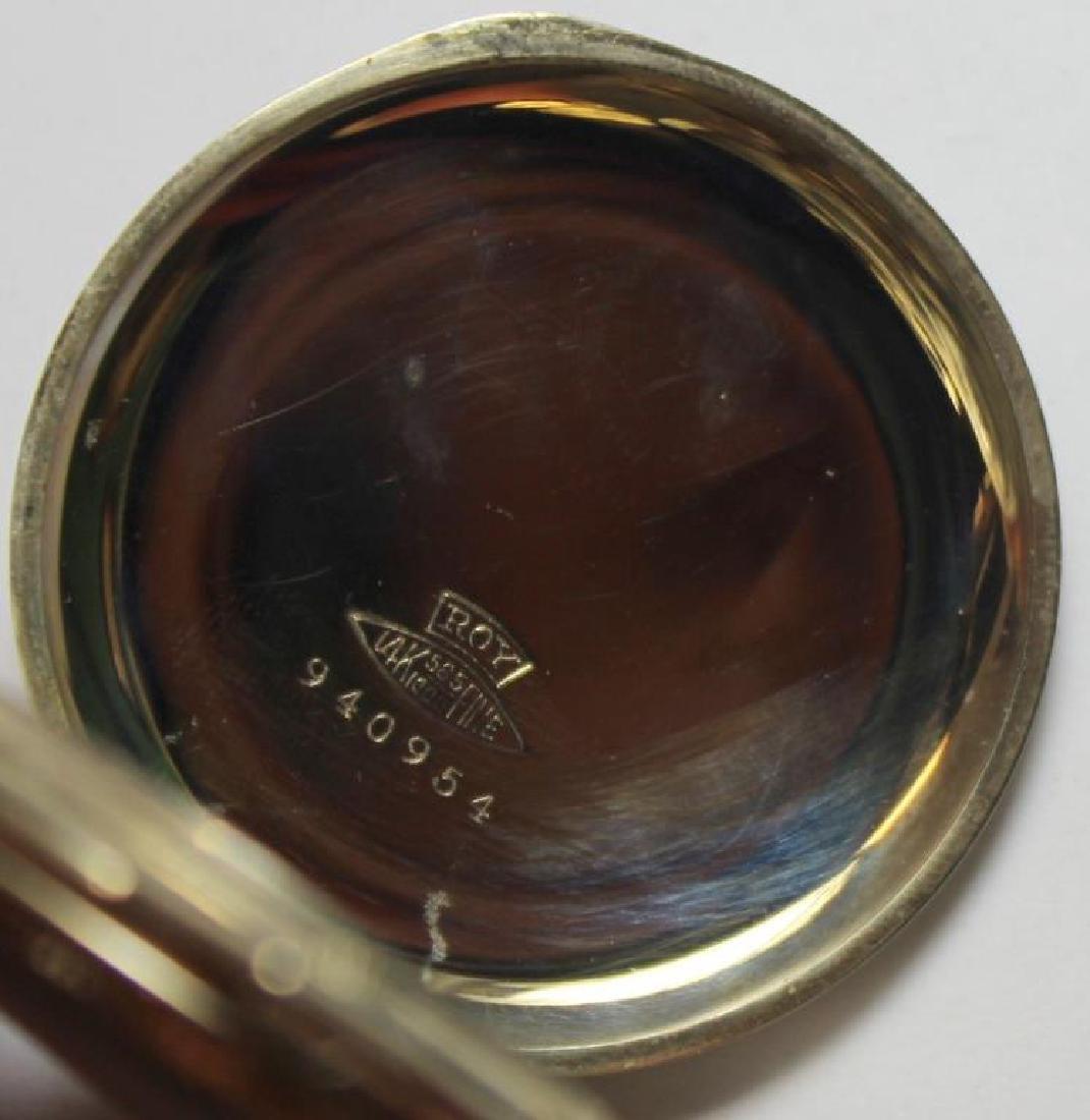 JEWELRY. Men's Pocket Watch Grouping. - 7