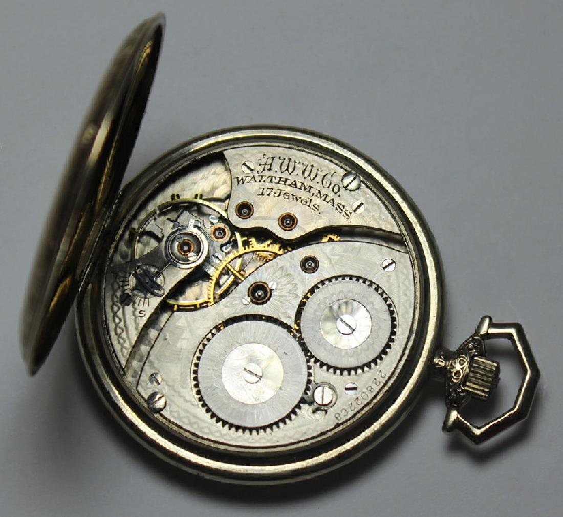 JEWELRY. Men's Pocket Watch Grouping. - 8