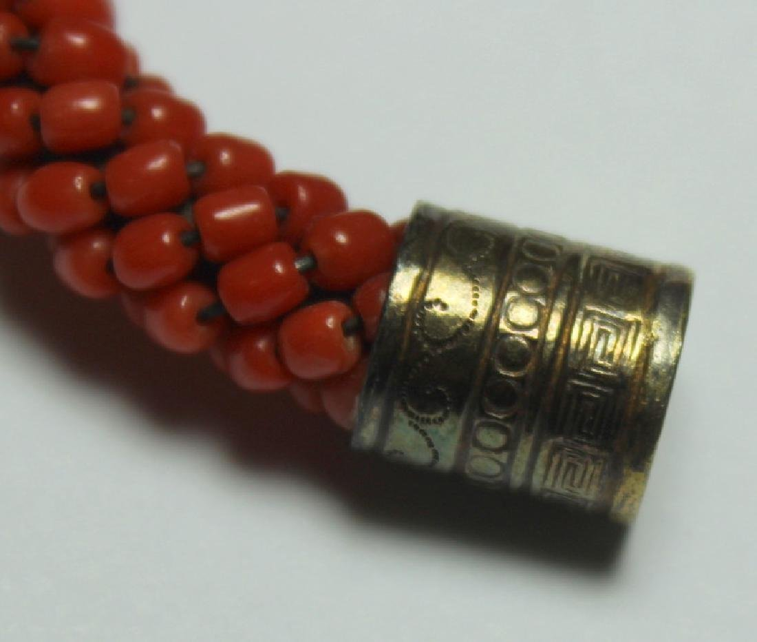 JEWELRY. Grouping of Estate Coral Jewelry. - 6