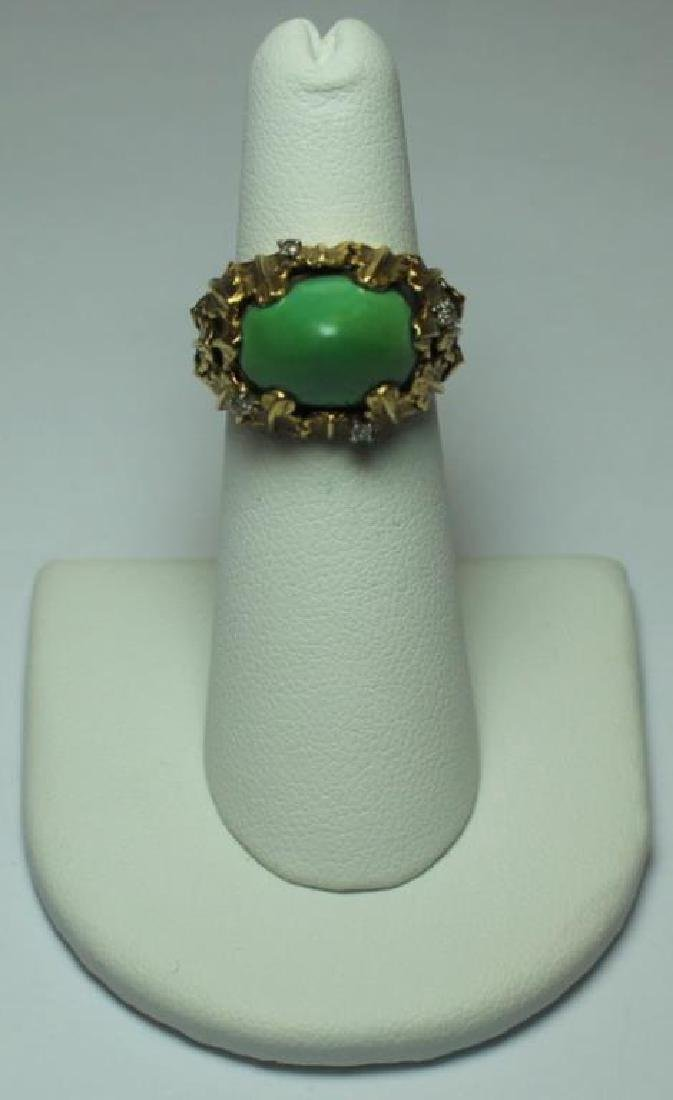 JEWELRY. J. Rossi 18kt Gold, Turquoise, and