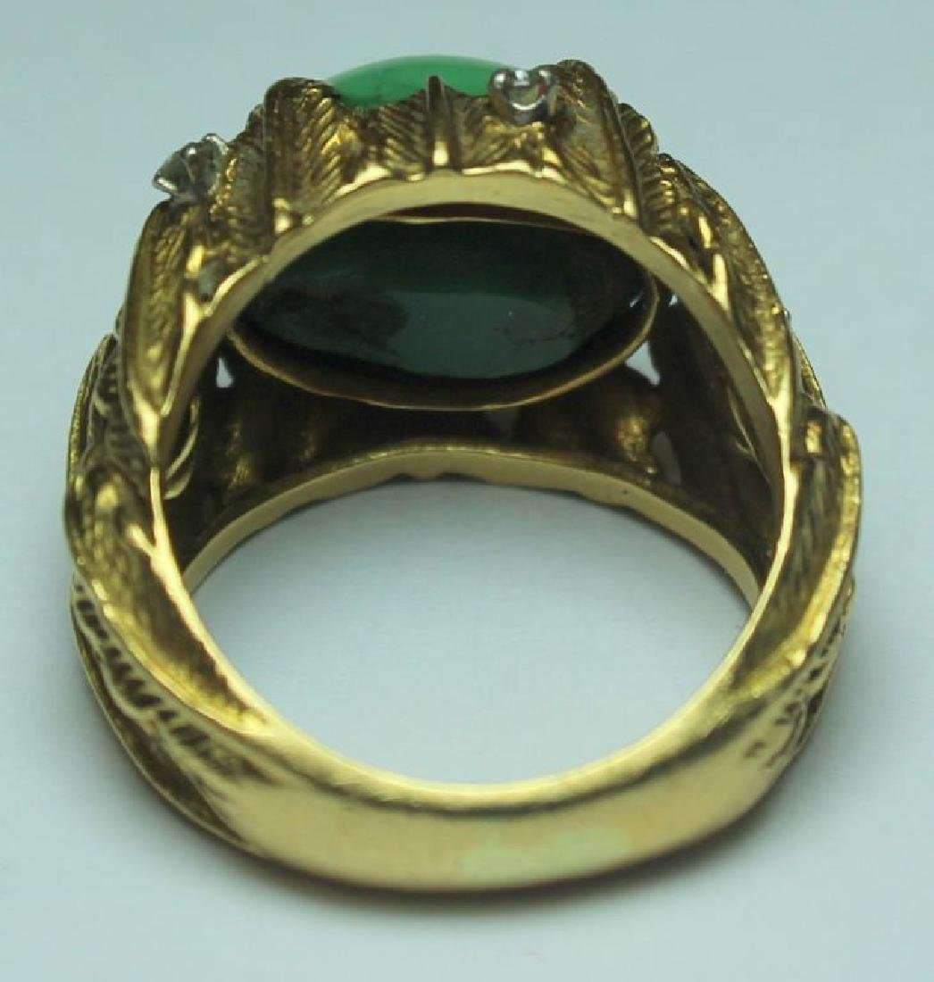 JEWELRY. J. Rossi 18kt Gold, Turquoise, and - 4