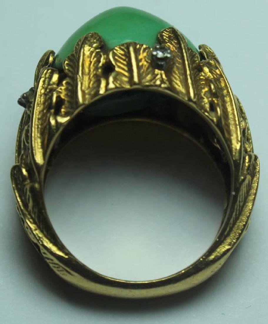 JEWELRY. J. Rossi 18kt Gold, Turquoise, and - 6