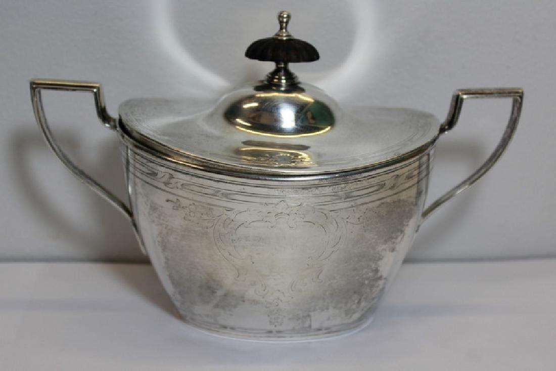 STERLING. Chester Billings & Son Sterling Tea Set. - 2