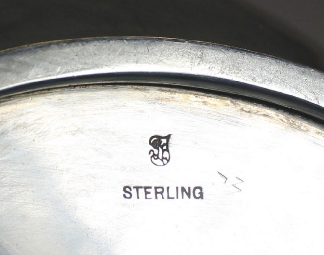 STERLING. Large Towle Sterling Water Pitcher. - 4