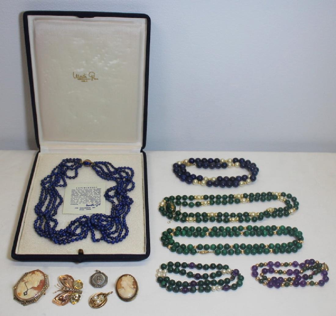 JEWELRY. Assorted Gold Jewelry Including Cartier.