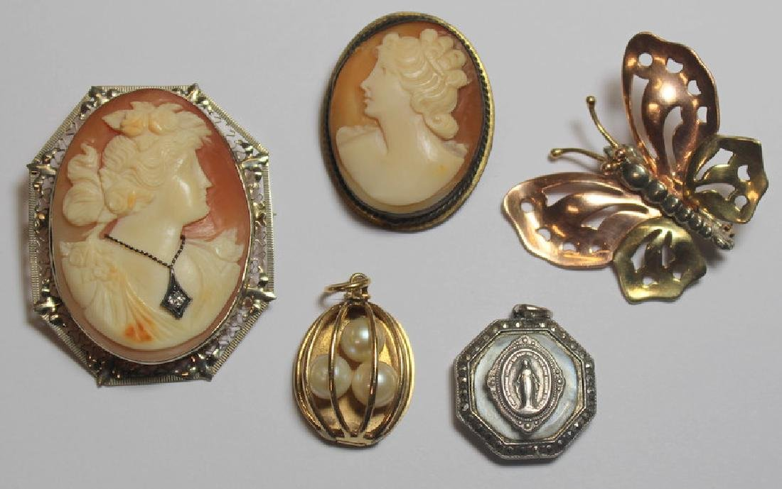 JEWELRY. Assorted Gold Jewelry Including Cartier. - 8