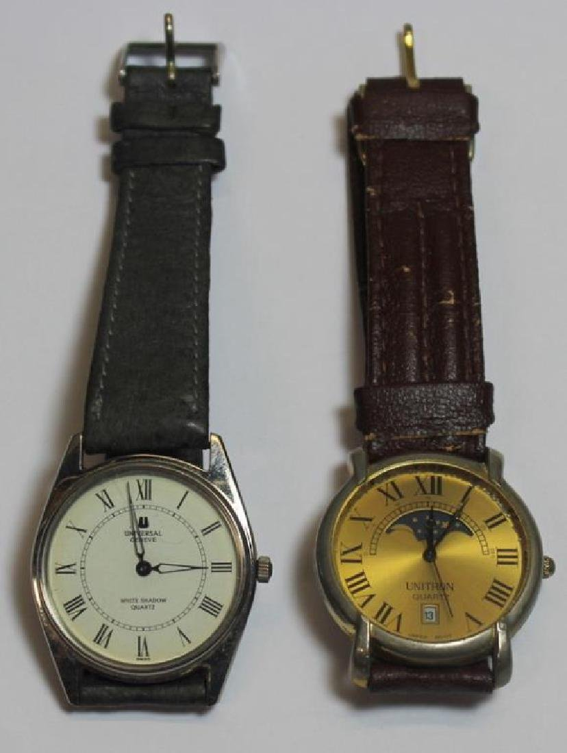 JEWELRY. Grouping of Men's Watches Inc. Omega. - 2