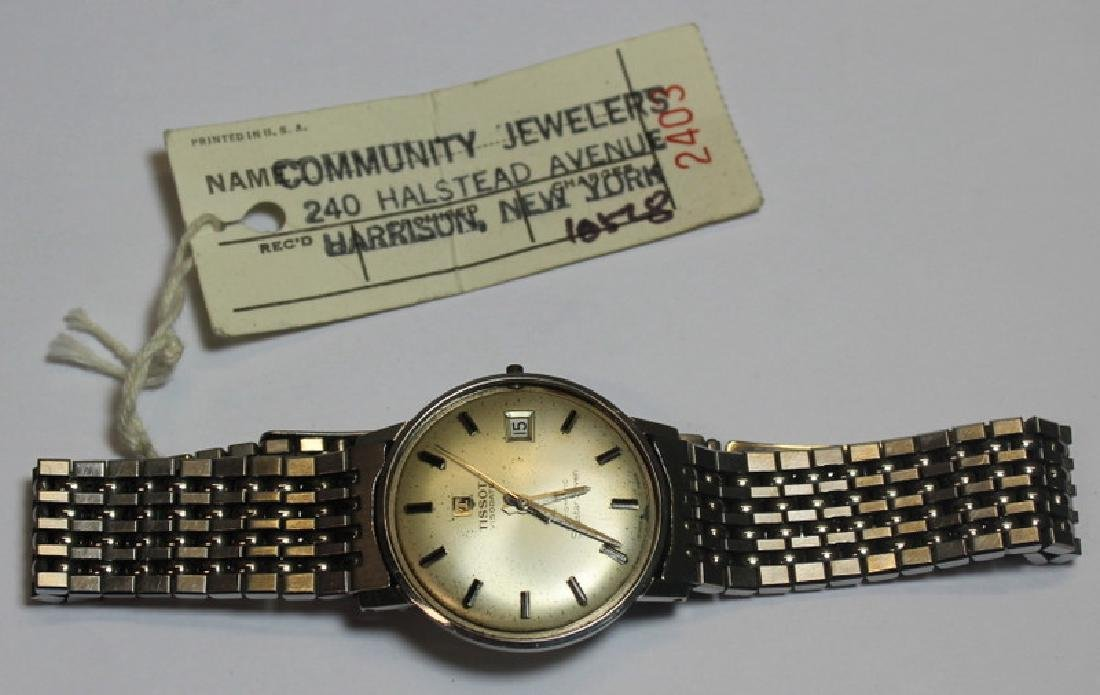 JEWELRY. Grouping of Men's Watches Inc. Omega. - 4