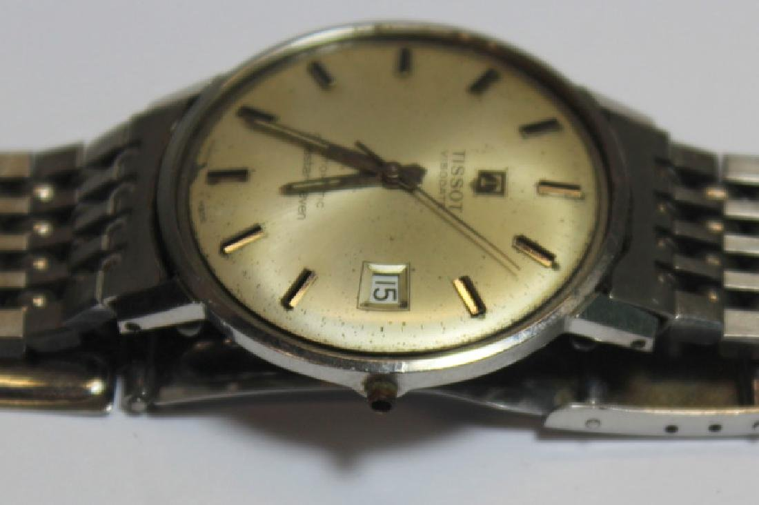 JEWELRY. Grouping of Men's Watches Inc. Omega. - 5