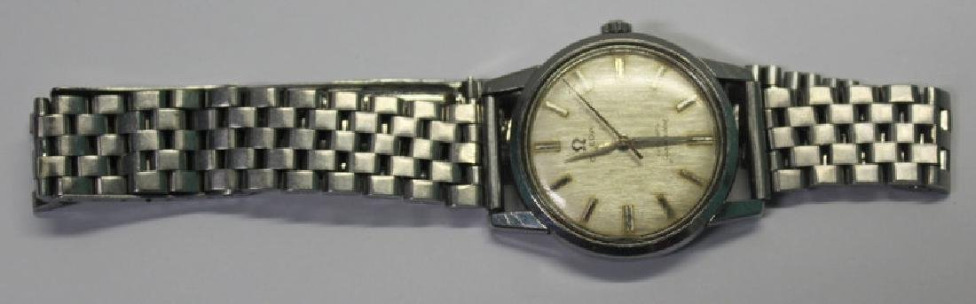 JEWELRY. Grouping of Men's Watches Inc. Omega. - 6