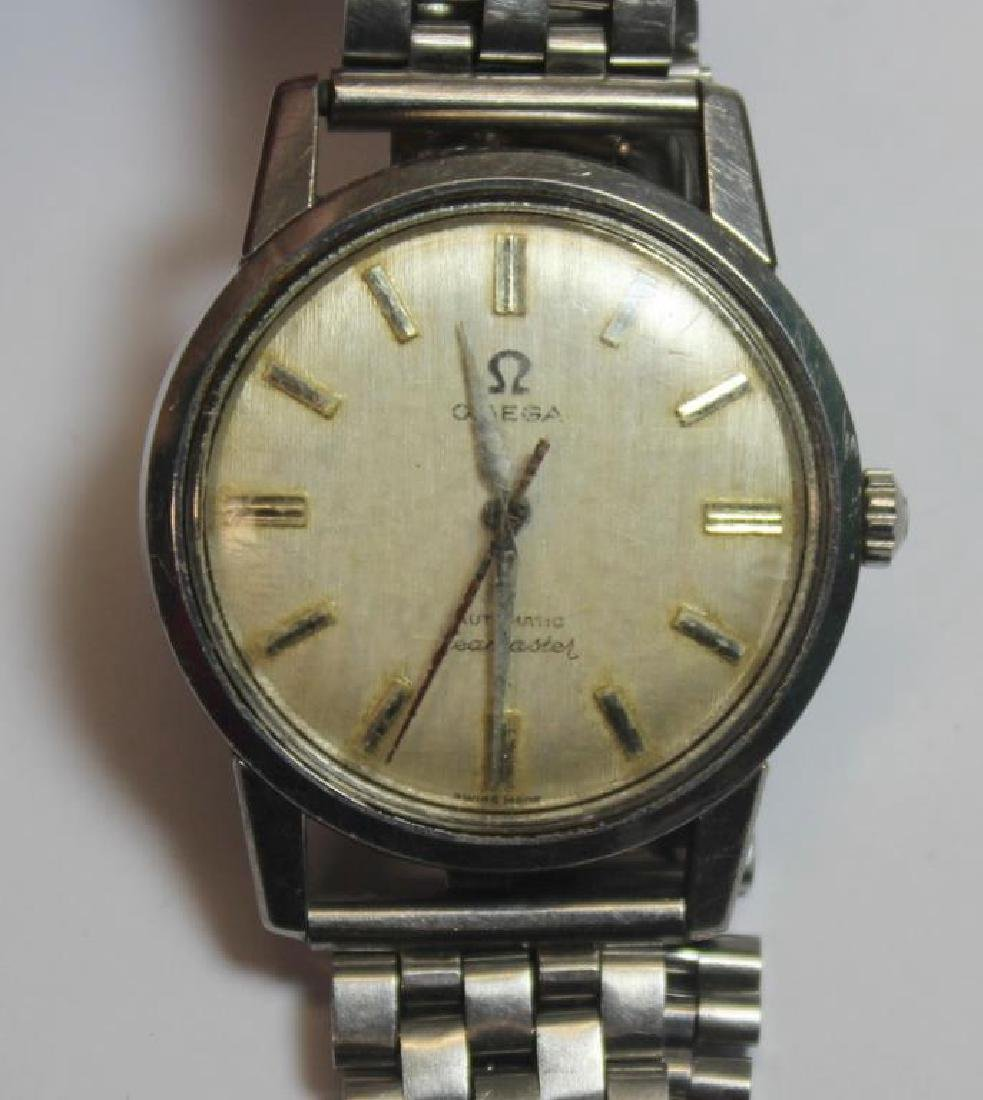 JEWELRY. Grouping of Men's Watches Inc. Omega. - 7