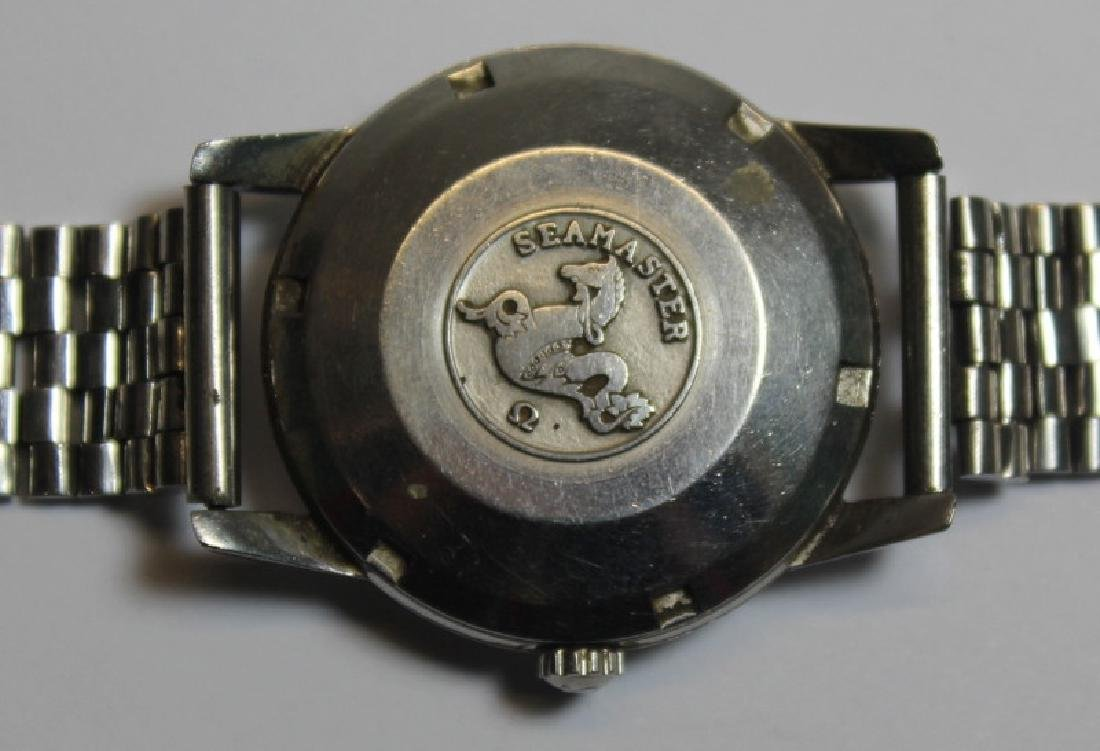 JEWELRY. Grouping of Men's Watches Inc. Omega. - 8