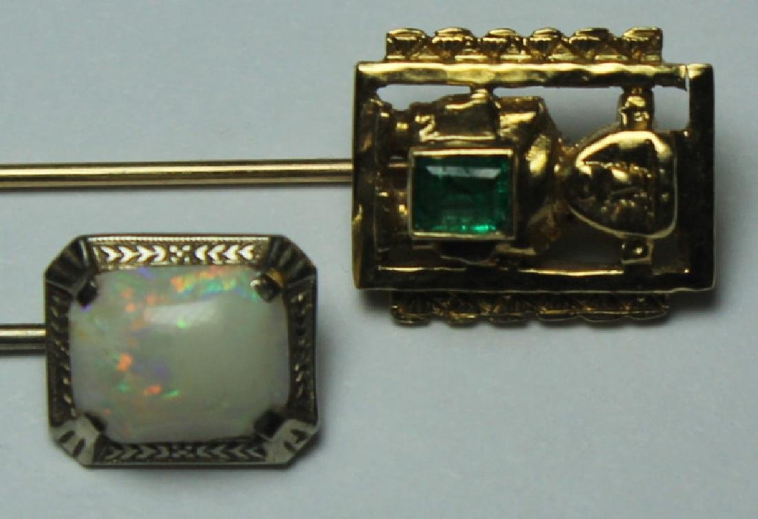 JEWELRY. Assorted Gold Jewelry Grouping. - 5