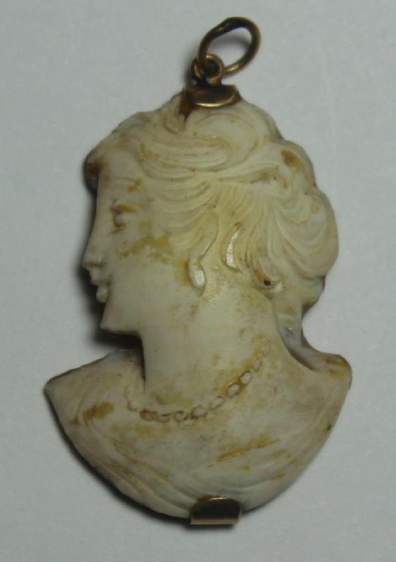 JEWELRY. Assorted Grouping of Cameo Jewelry. - 6