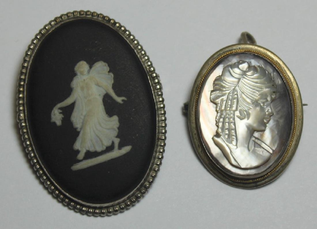 JEWELRY. Assorted Grouping of Cameo Jewelry. - 7