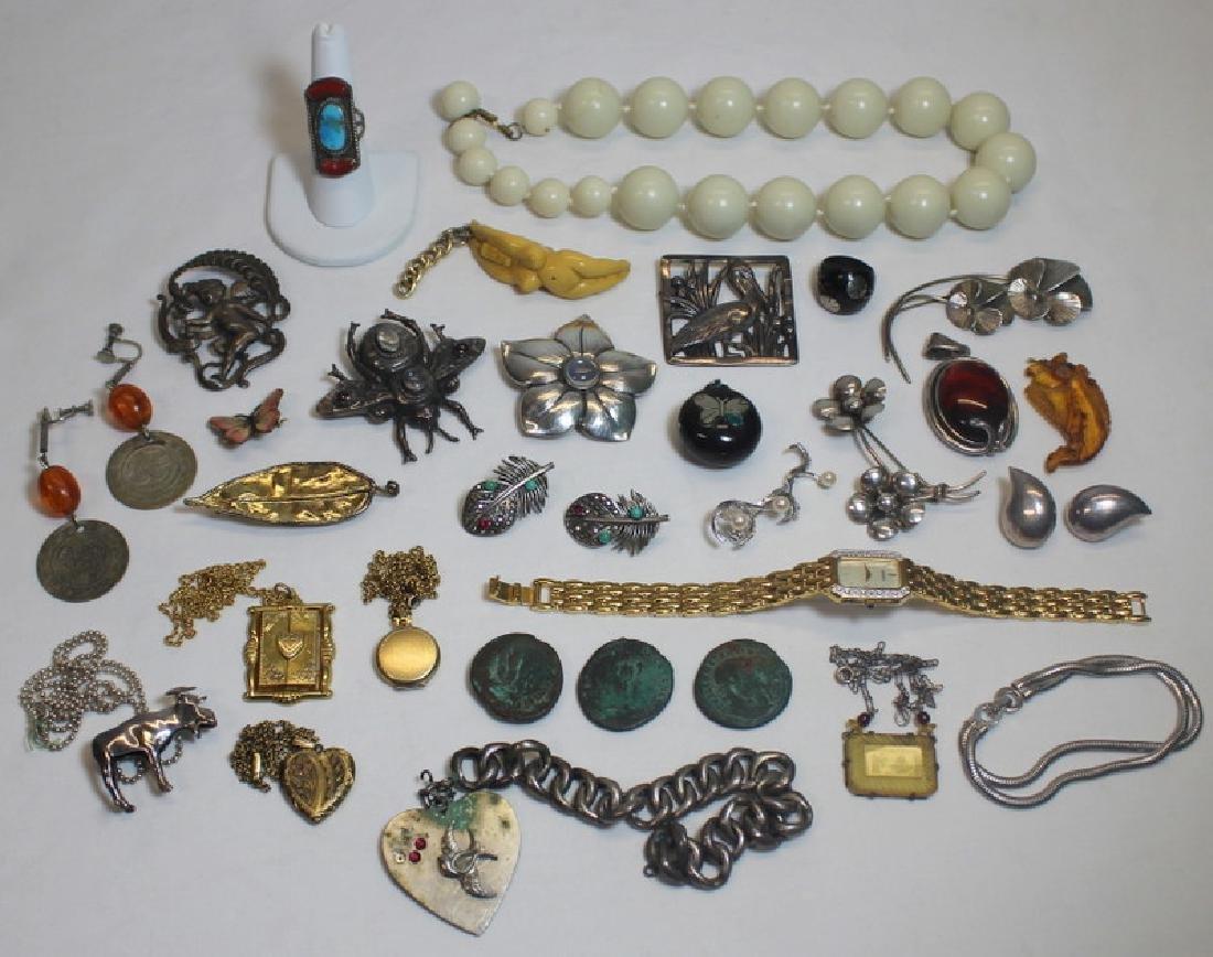 JEWELRY. Assorted Jewelry Inc. Georg Jensen.
