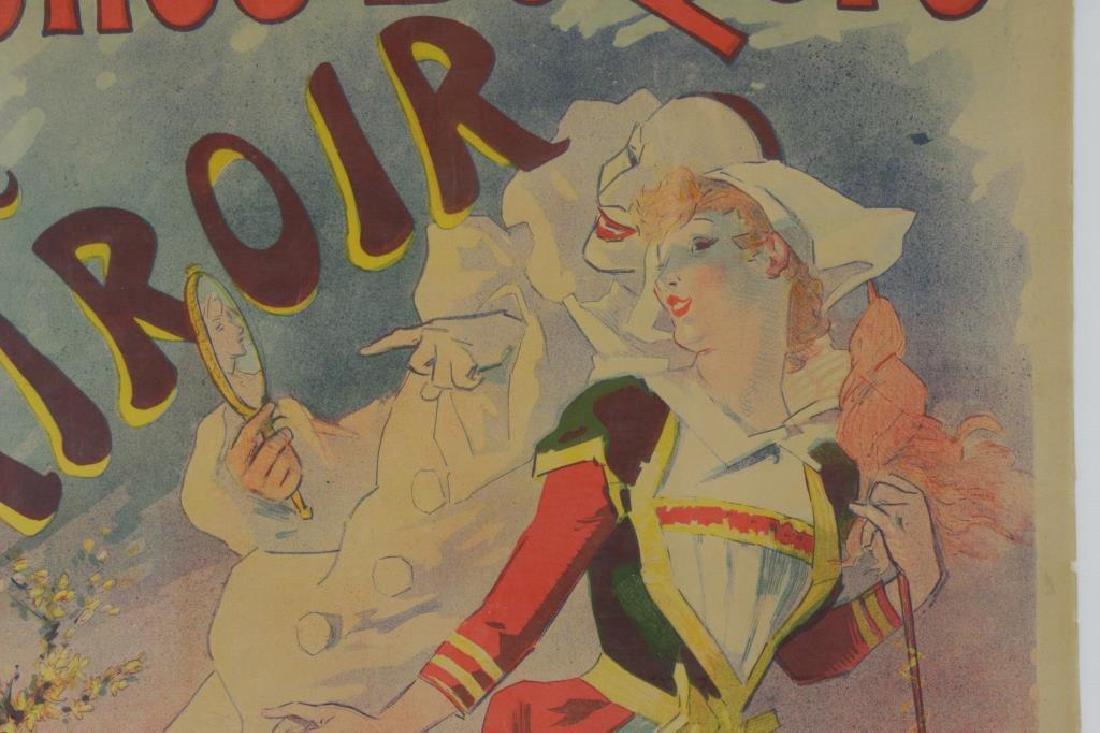 "CHERET, Jules. Color Lithograph Poster. ""Folies- - 3"