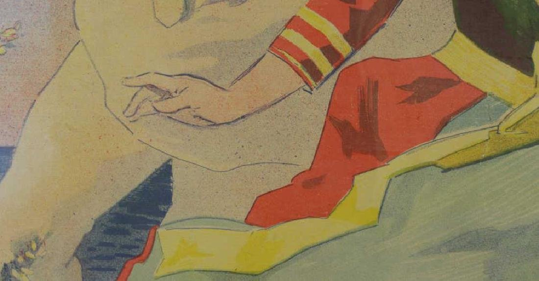 "CHERET, Jules. Color Lithograph Poster. ""Folies- - 7"