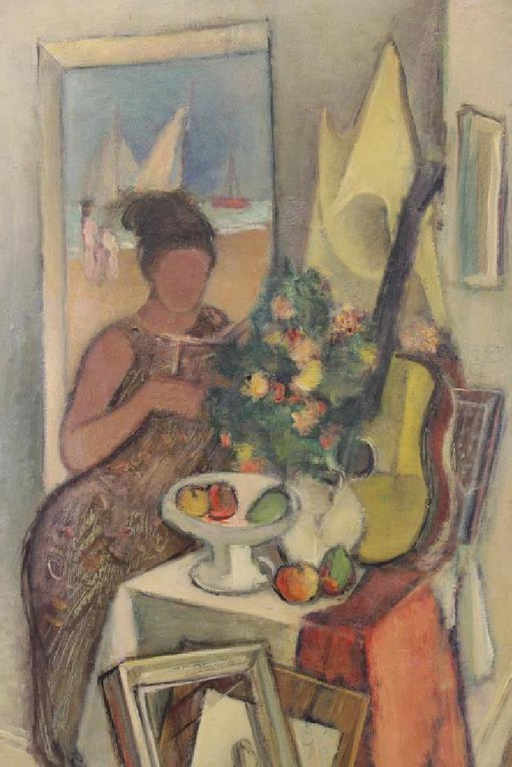 "SIMKHOVITCH, Simka. Oil on Canvas. ""Arrangement"" - 3"