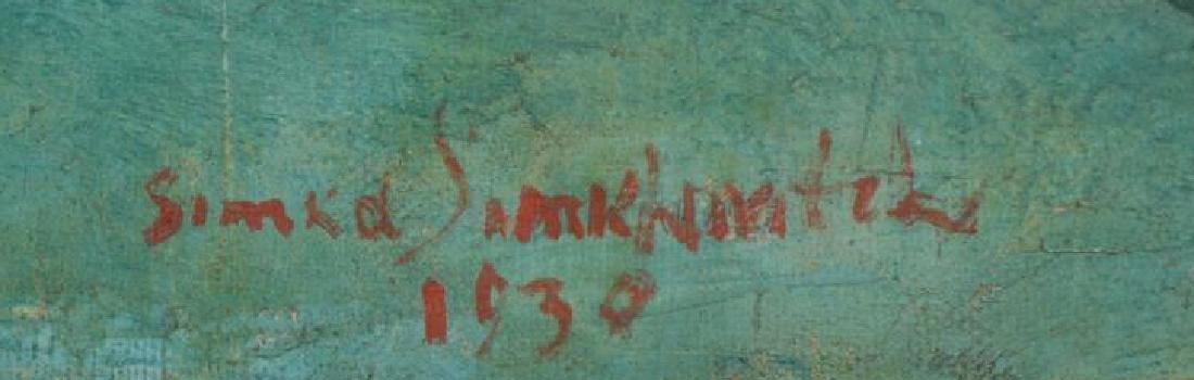 SIMKHOVITCH, Simka. Two Oil on Canvas Still Lifes. - 6