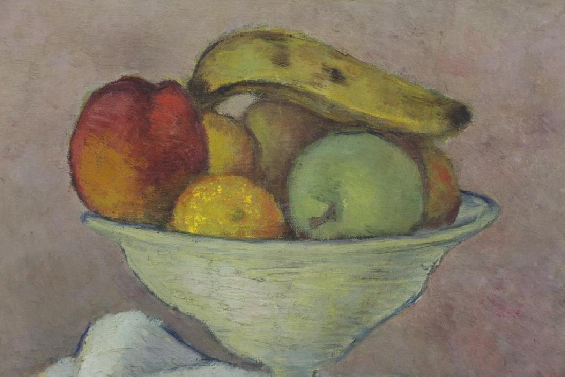 SIMKHOVITCH, Simka. Two Oil on Canvas Still Lifes. - 9
