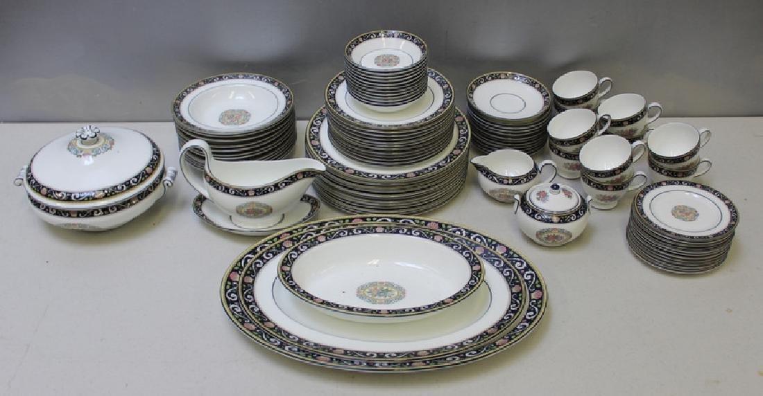 """WEDGWOOD. """"Runnymede"""" Porcelain Service for 12. - 2"""