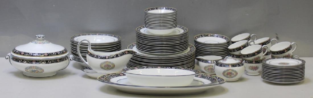 """WEDGWOOD. """"Runnymede"""" Porcelain Service for 12. - 3"""