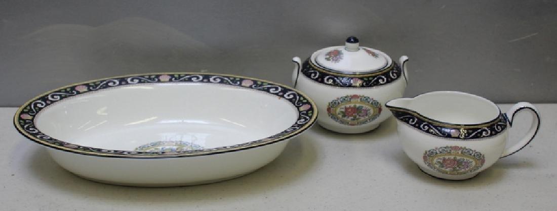 """WEDGWOOD. """"Runnymede"""" Porcelain Service for 12. - 5"""