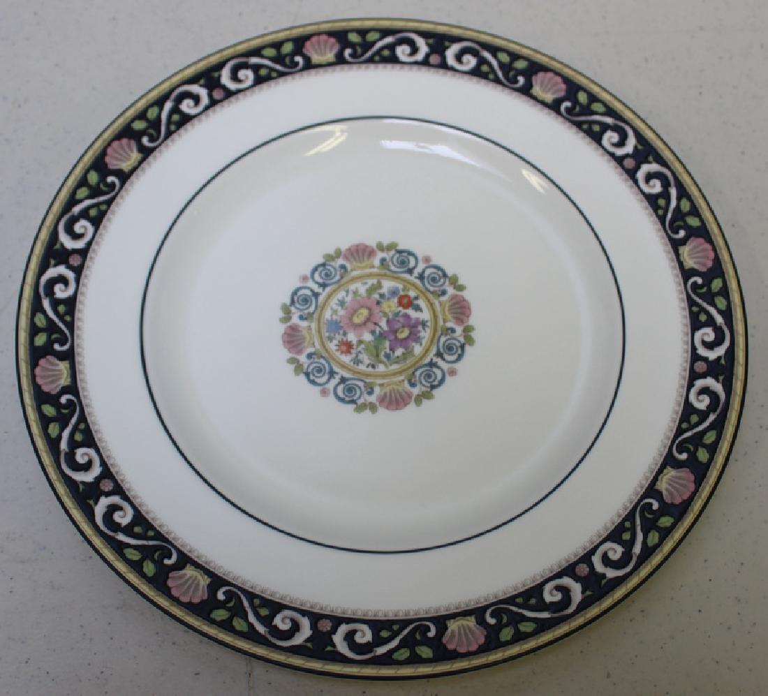 """WEDGWOOD. """"Runnymede"""" Porcelain Service for 12. - 6"""