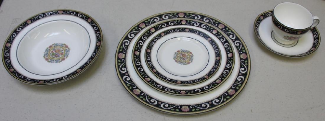 """WEDGWOOD. """"Runnymede"""" Porcelain Service for 12. - 7"""