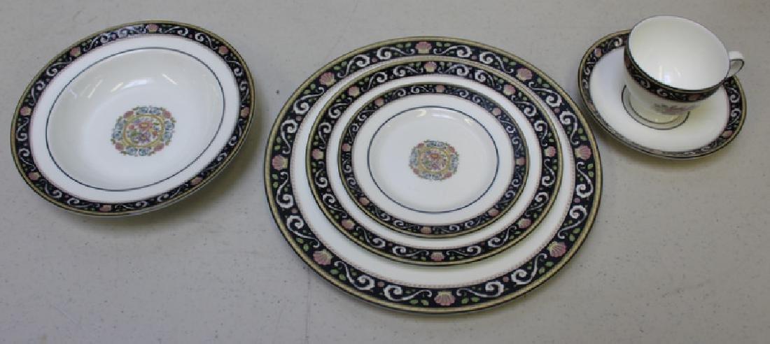 """WEDGWOOD. """"Runnymede"""" Porcelain Service for 12. - 8"""
