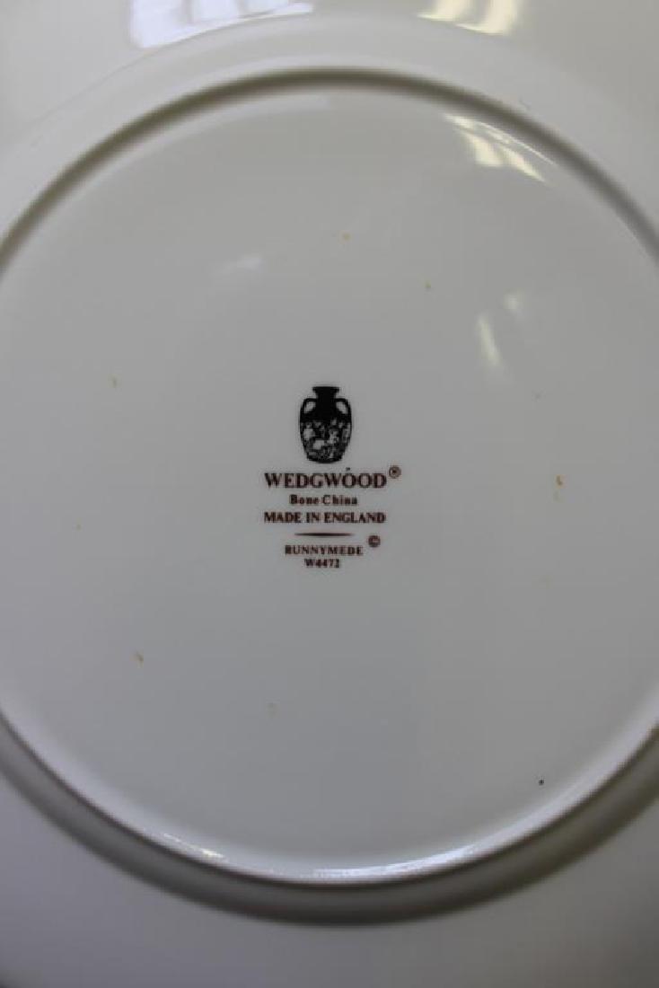 """WEDGWOOD. """"Runnymede"""" Porcelain Service for 12. - 9"""