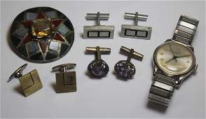 JEWELRY Assorted Ladies and Mens Jewelry Grouping