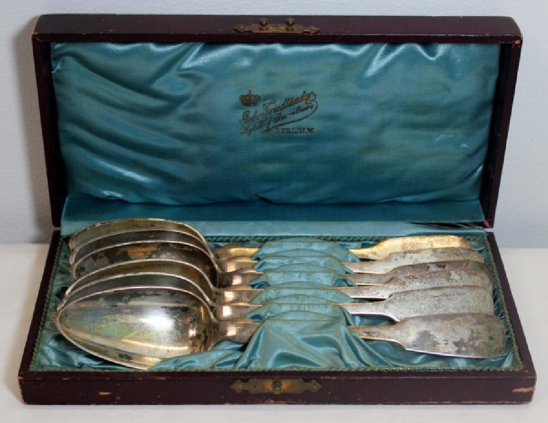 SILVER. Assorted Grouping of Continental Silver. - 7
