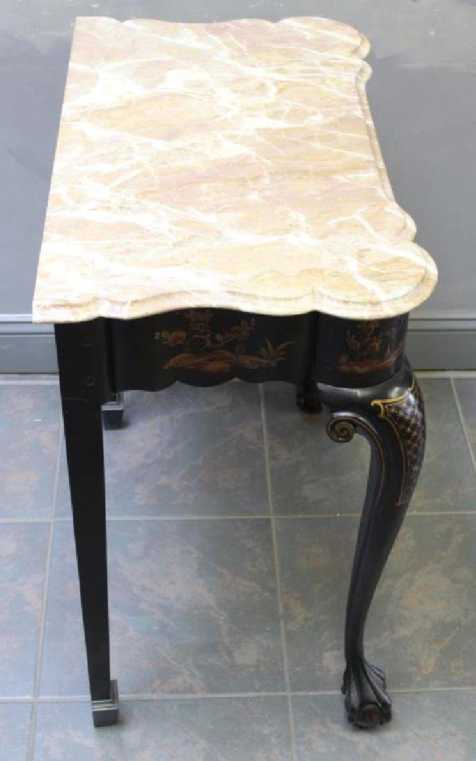 Vintage and Quality Chinoiserie Decorated and - 5