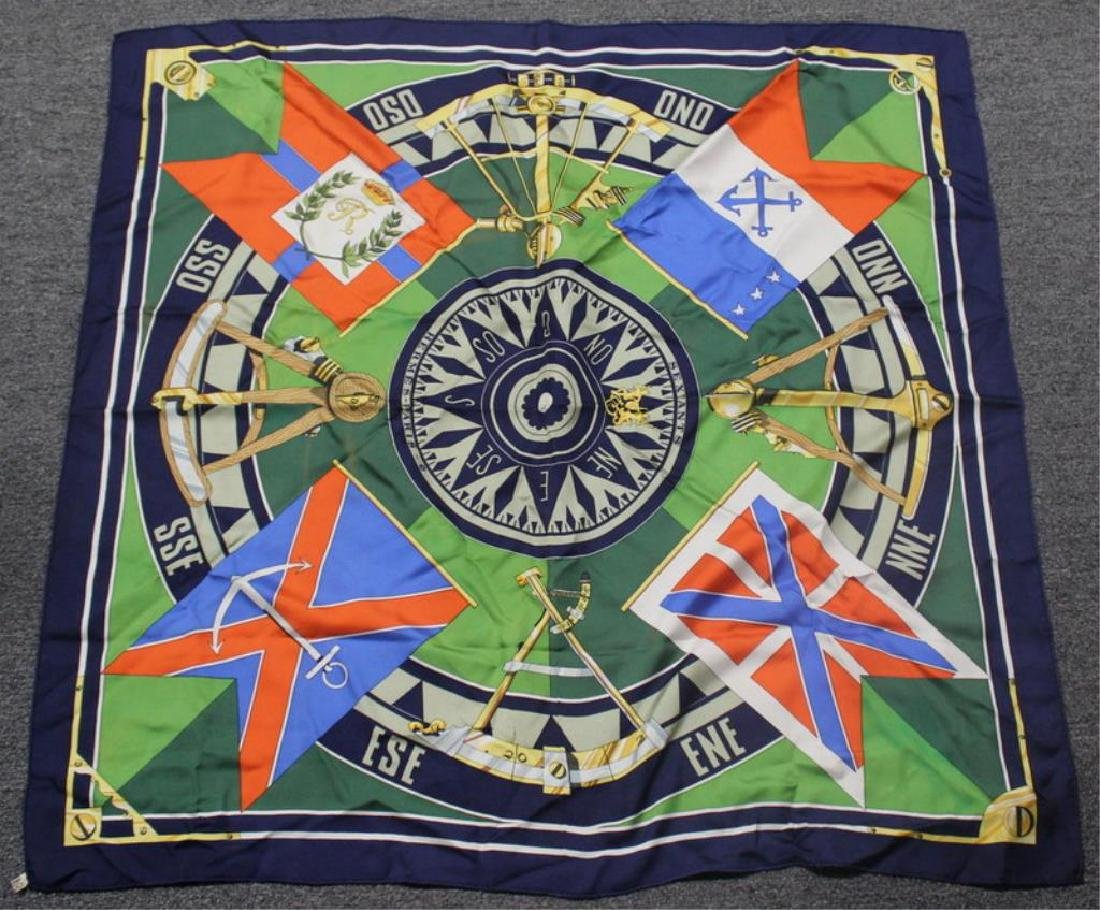 Grouping of Hermes Silk Scarves. - 2