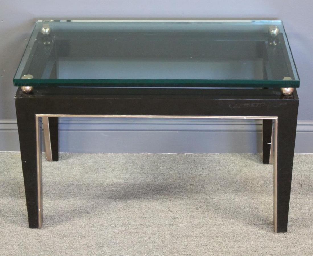 J.Robert Scott, Signed Art Deco Style Table.