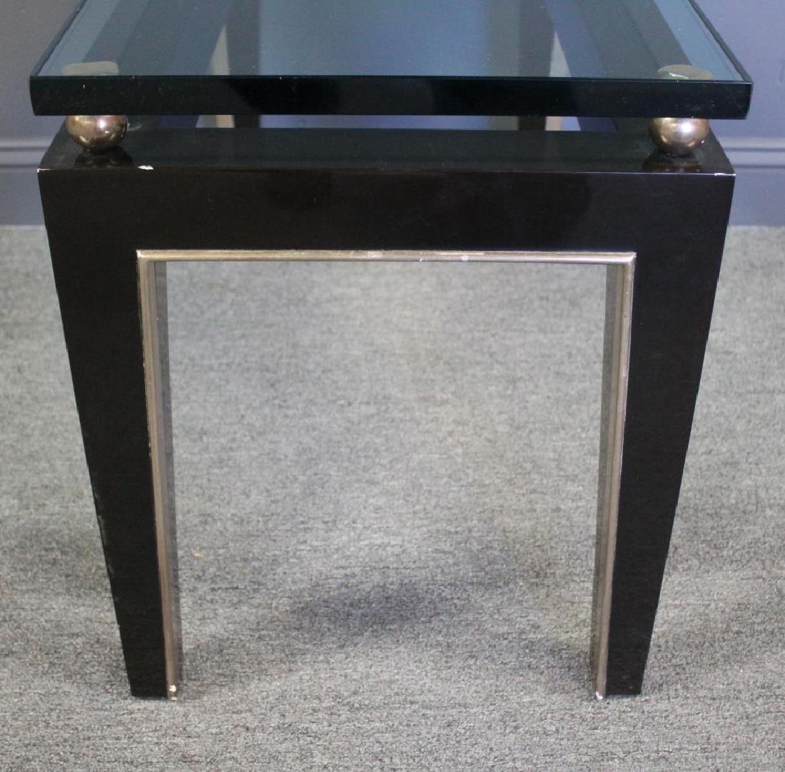 J.Robert Scott, Signed Art Deco Style Table. - 3