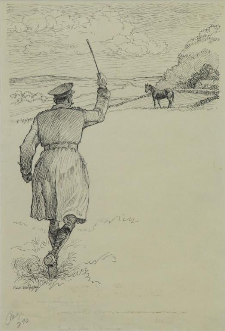 BROWN, Paul. Five (5) Equestrian Illustrations. - 2