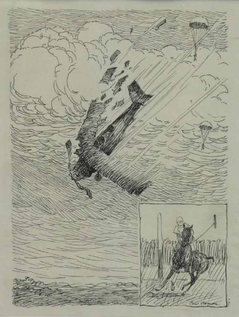 BROWN, Paul. Five (5) Equestrian Illustrations. - 3