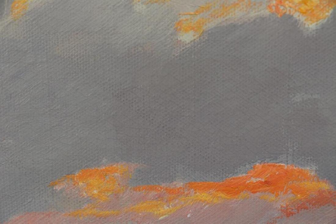 DZIGURSKI, Alex. Oil on Canvas. Sunset Seascape. - 5