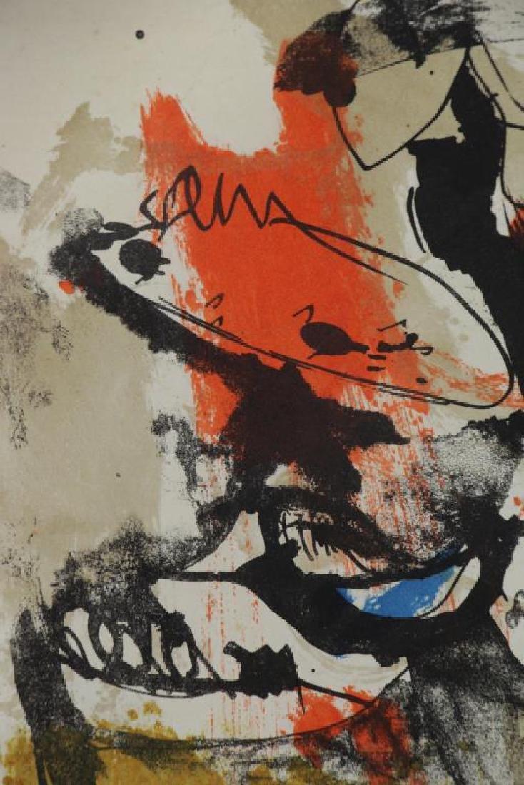 BASALDELLA, Afro. Color Lithograph. Untitled. - 3