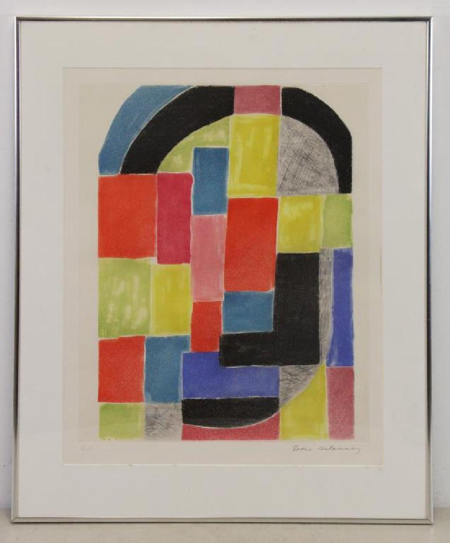 DELAUNAY, Sonia. Etching and Aquatint in Colors. - 2