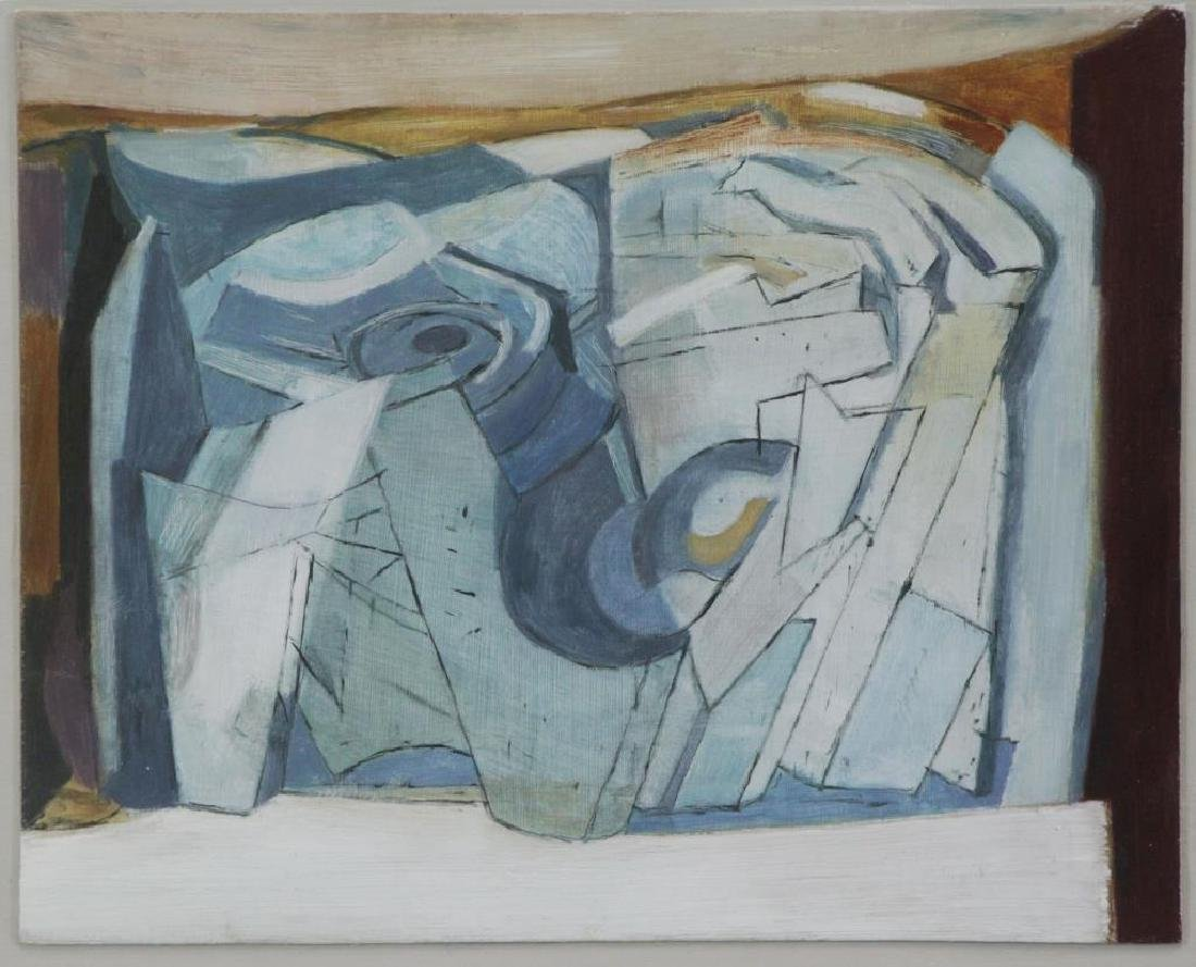 "BARNS-GRAHAM, Wilhelmina. ""Small Vortex"" 1951. Oil"