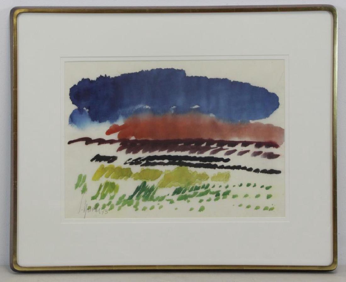 SPROTTE, Siegward. Watercolor on Paper. Landscape. - 2