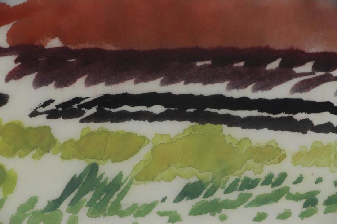 SPROTTE, Siegward. Watercolor on Paper. Landscape. - 3