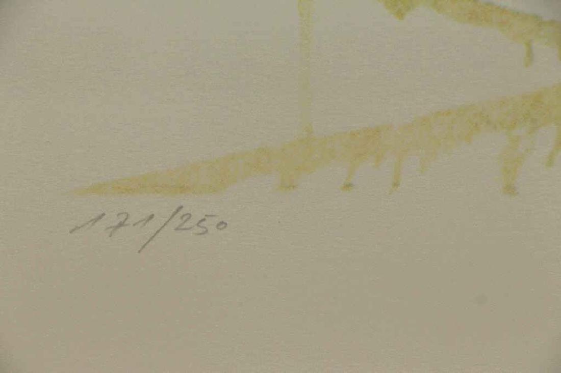 "DALI, Salvador. Embossed Color Lithograph ""Wailing - 5"