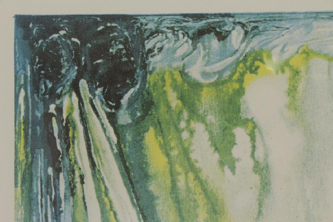 "DALI, Salvador. Embossed Color Lithograph ""Wailing - 6"