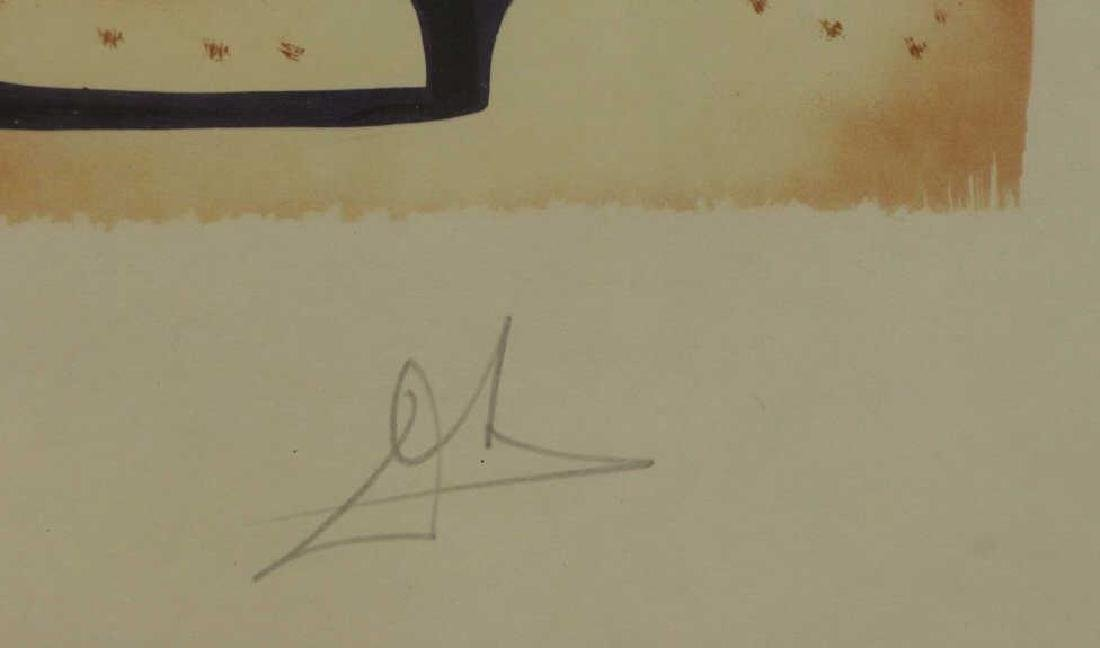 "DALI, Salvador. Lithograph on Japon. ""Christopher - 3"
