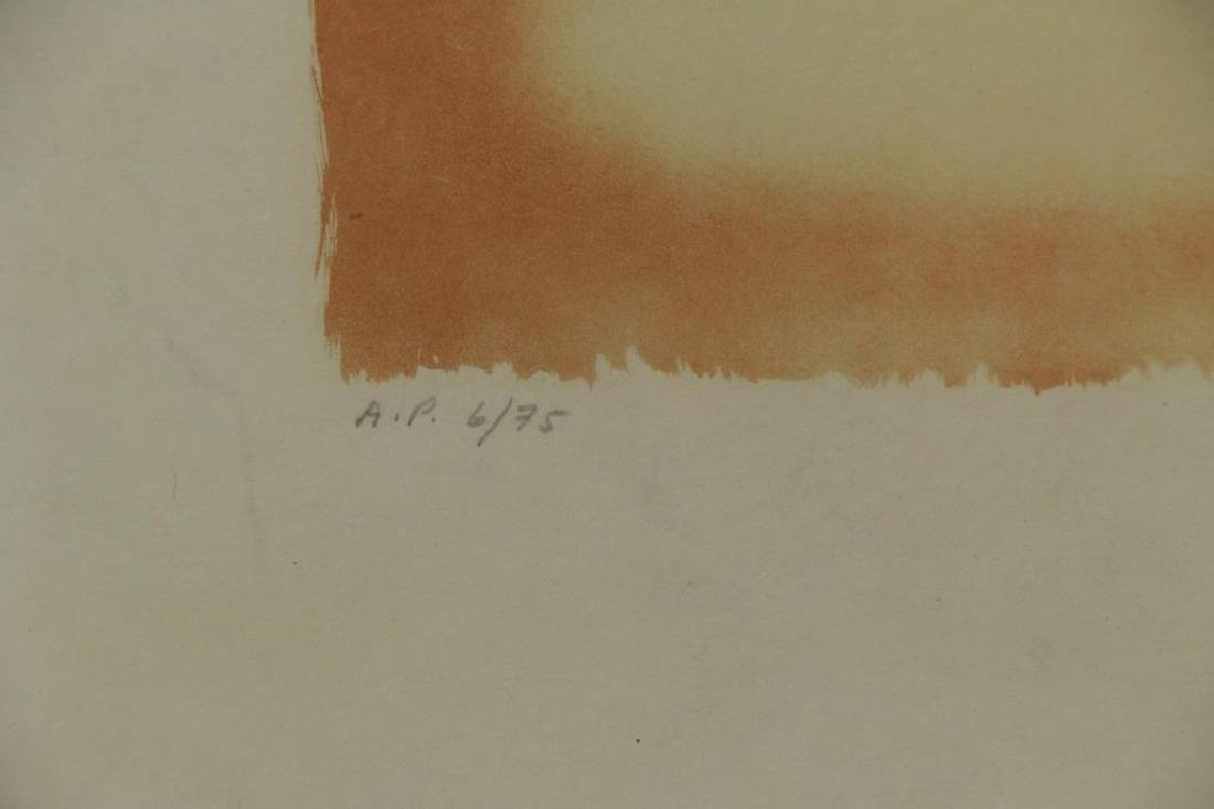 "DALI, Salvador. Lithograph on Japon. ""Christopher - 4"